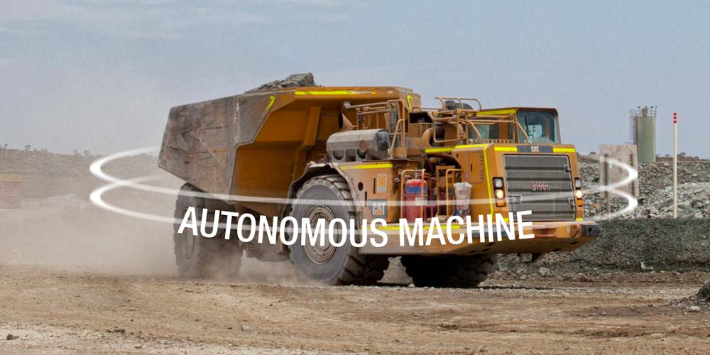Mining automation with Caterpillar Command truck