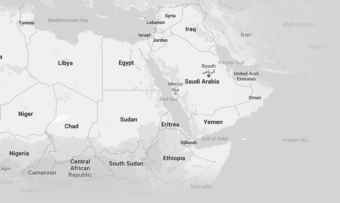 Middle East-Map